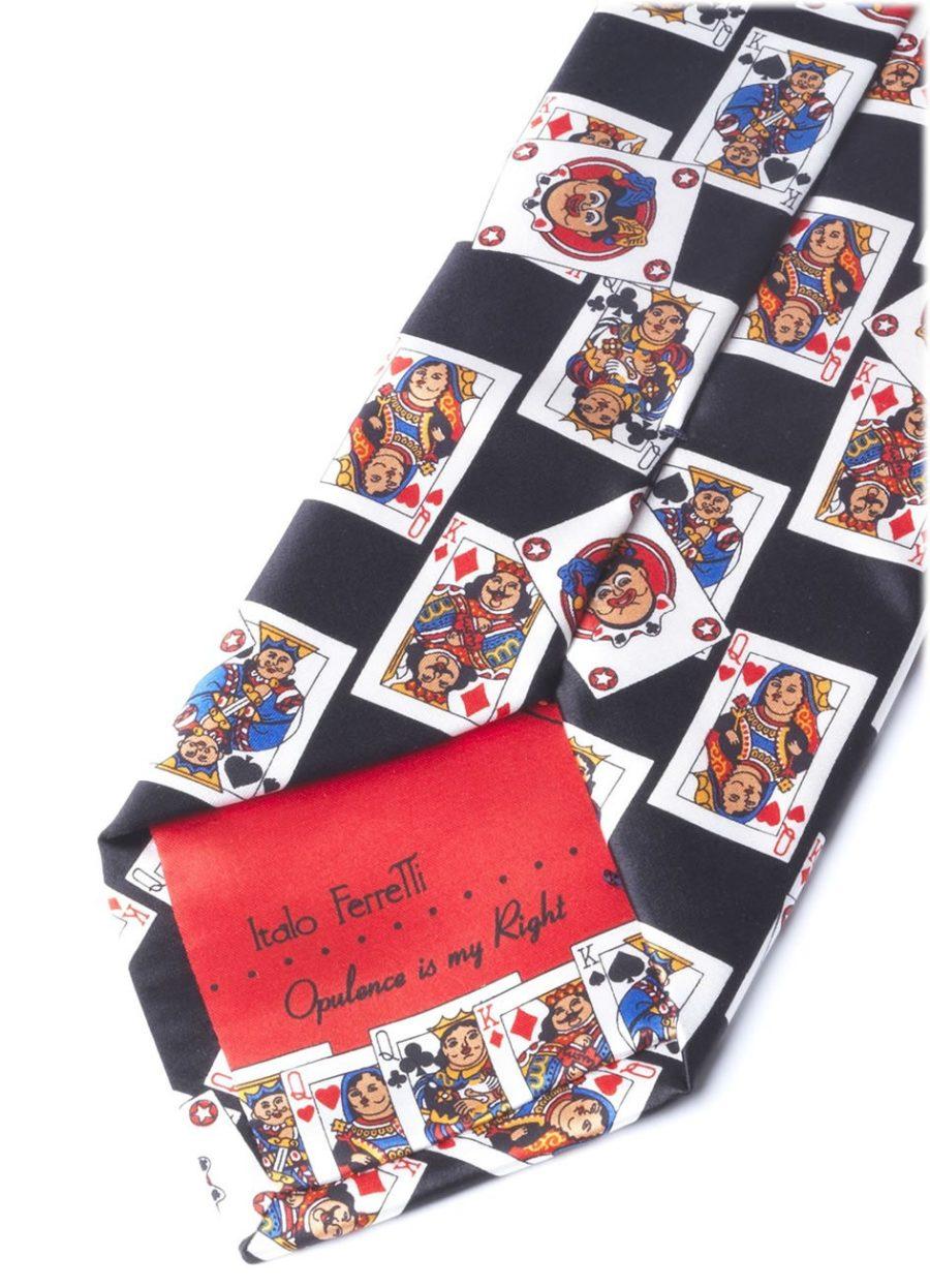 CARDS BLACK TIE