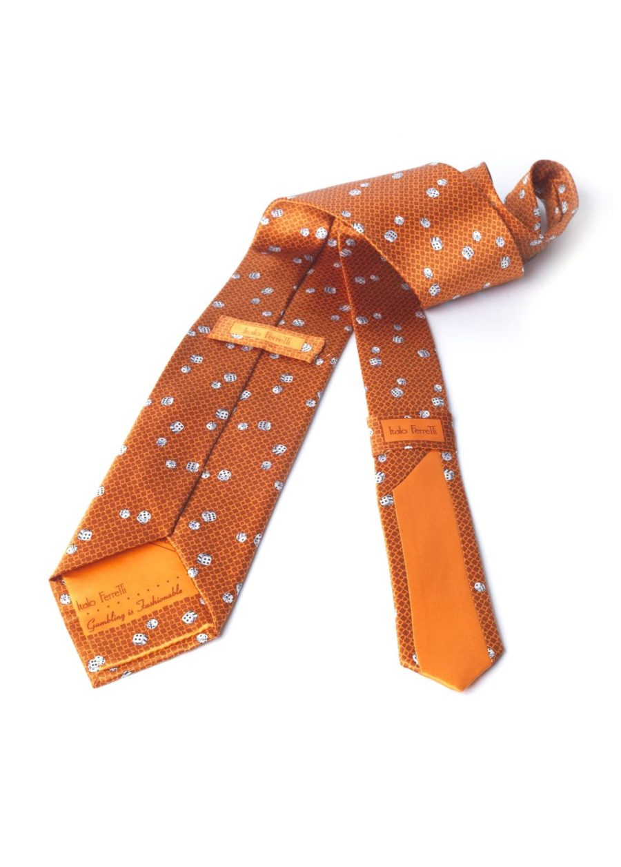 CRAPS ORANGE TIE