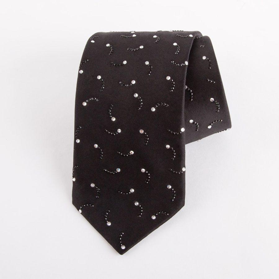 Black Tie with Swarovski crystals SS2015