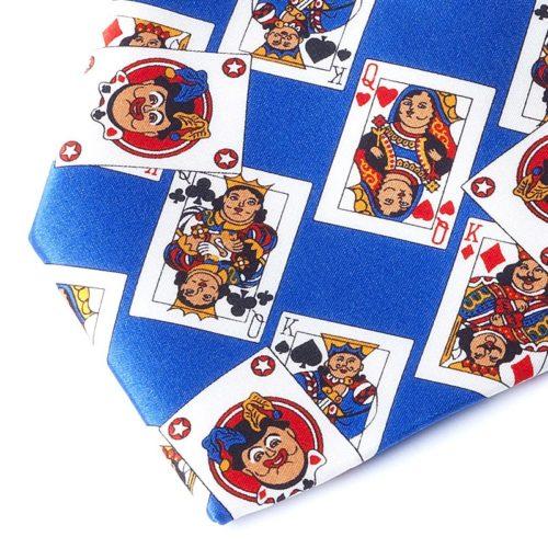 CARDS SKY BLUE TIE