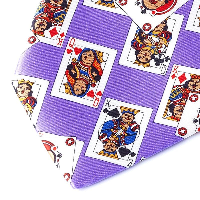 CARDS VIOLET TIE