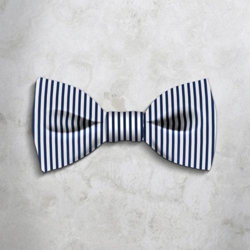 Stripes Bow tie 47812-1