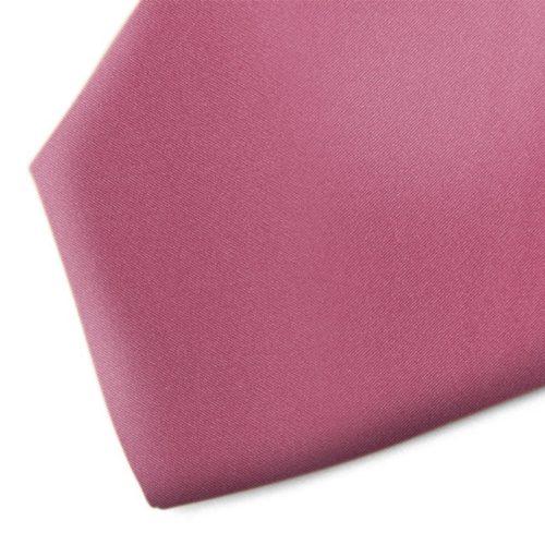 Solid violet handmade silk necktie