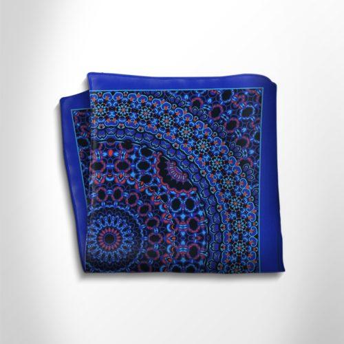 Pocket square in precious satin silk
