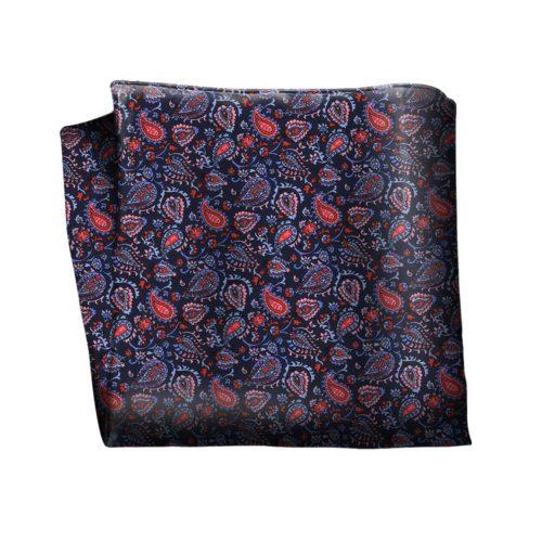 Sartorial silk pocket square 418008-03