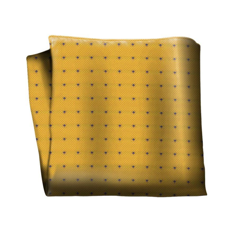 Sartorial silk pocket square 418500-03