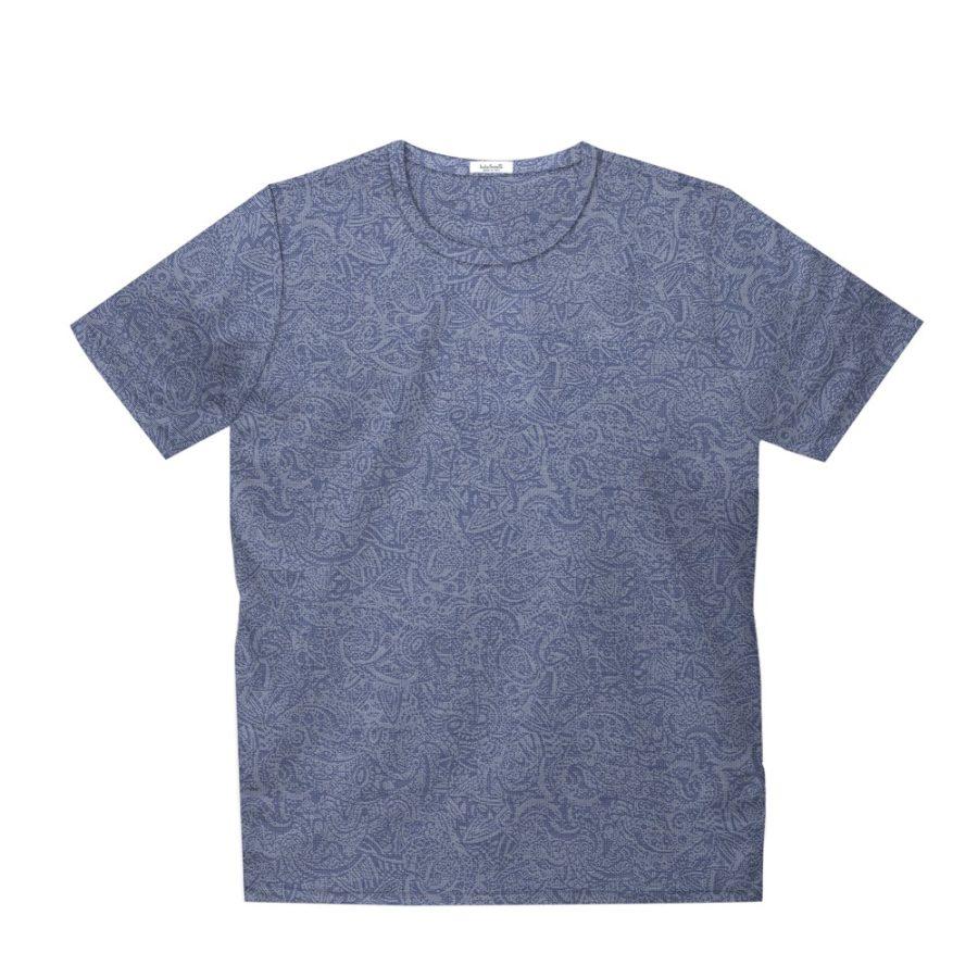 Short sleeve men's cotton t-shirt light grey 418073-02