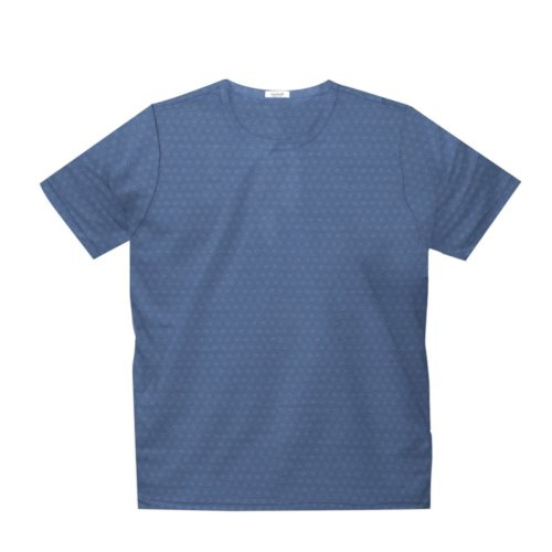 Short sleeve men's cotton t-shirt light blue 418078-02