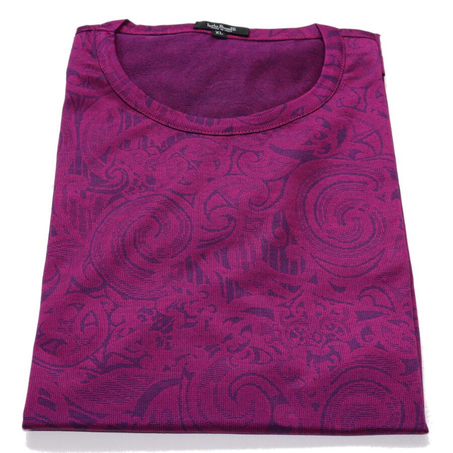 Jacquard cotton t-shirt bt Italo Ferretti