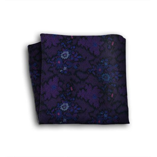 Sartorial silk pocket square 418631-01