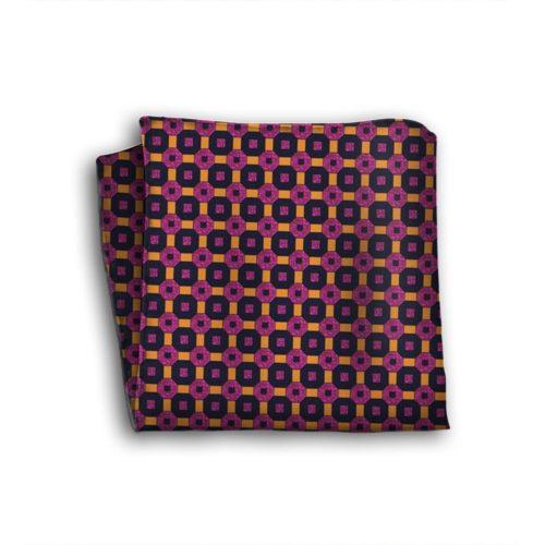 Sartorial silk pocket square 418223-02