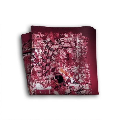 Sartorial silk pocket square 419032-02