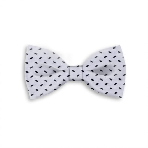 Tailored handmade bow-tie with velvet effect application419408-07