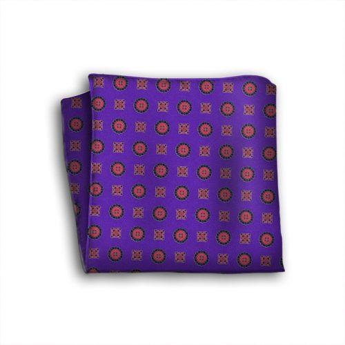 Sartorial silk pocket square 419348-03