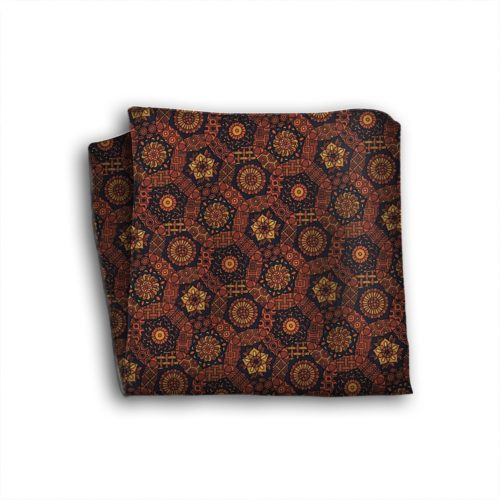 Sartorial silk pocket square 419378-03