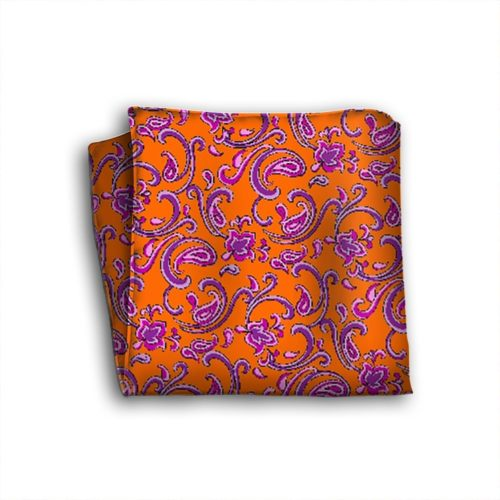 Sartorial silk pocket square 419376-02
