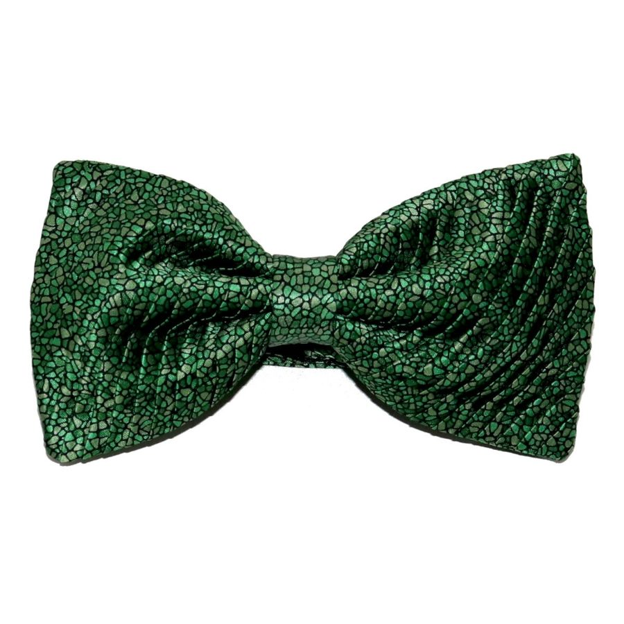 Tailored pleated handmade bow-tie 419613-02