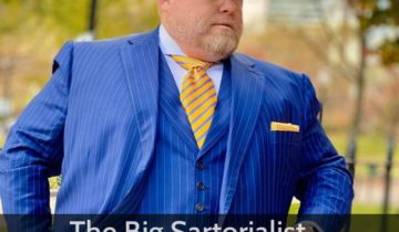 'The Big Sartorialist' wears Italo Ferretti