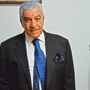 Zahi Hawass wears Italo Ferretti luxury necktie