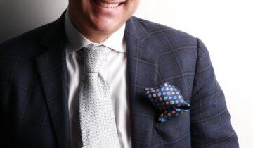 Anthony Barbuto wears Italo Ferretti