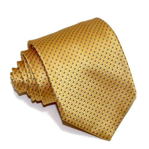 "NEW MENS TOP POCKET HANKIE HANDKERCHIEF GOLDEN YELLOW SPARKLING GOLD MOD 9/"" X 9/"""