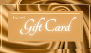 New in! ITALO FERRETTI Gift Card